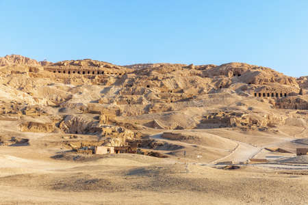 Valley of Nobles, ancient tombs of Luxor, Egypt.