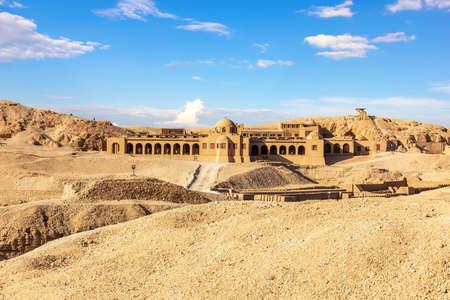 Valley of the Kings Tomb complex, Luxor, Egypt. 版權商用圖片