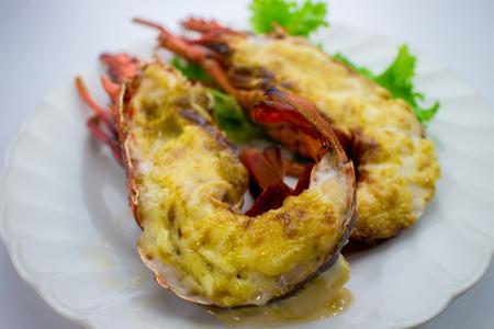 mayonesa: Ise miso camarón mayonesa a la parrilla