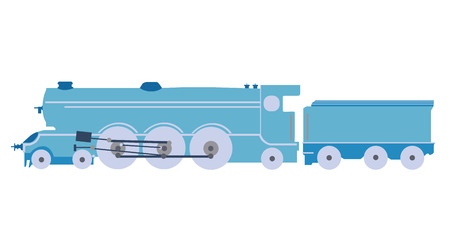 steam locomotive: Steam locomotive of illustrations