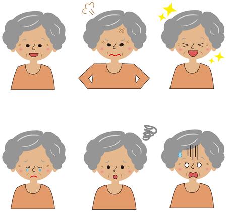 Grandma look set