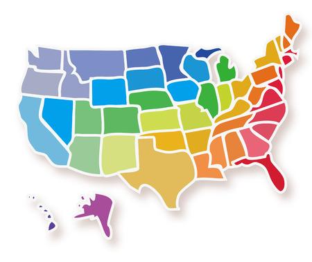 fodder: USA map