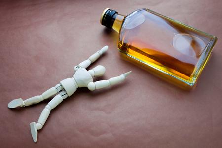 alcohol addiction Banco de Imagens - 58513115