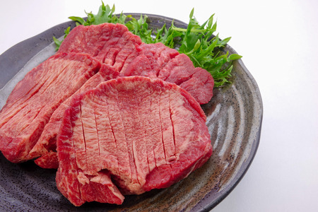 thick: Thick slice beef tongue