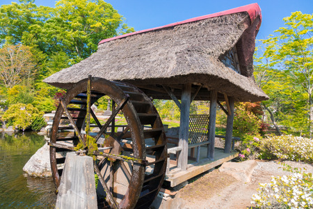 Water mill Stock Photo