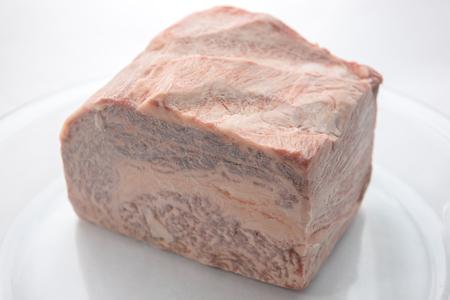 Frozen block meat