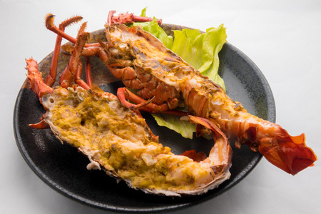 spiny lobster: Miso mayonnaise grilled spiny lobster