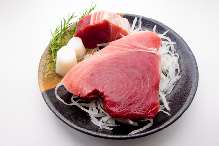 tuna fillet: Fillet of tuna Stock Photo