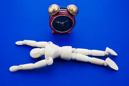 llegar tarde: Reloj y muñeca, Plazo Foto de archivo