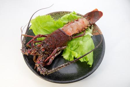 spiny lobster: Spiny lobster Sashimi