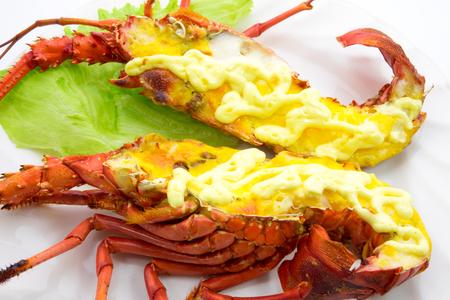 mayonesa: Mayonesa langosta a la plancha