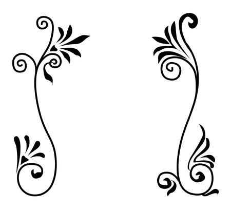 Decorative vegetative ornament Stock Vector - 5483779