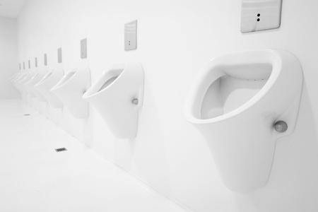 a clean new public toilet room empty Stock Photo - 8952436