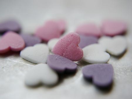 declaracion de amor: en blanco dulce coraz�n - coraz�n de conversaci�n - a�adir su propio texto - coraz�n Rosa est� en foco