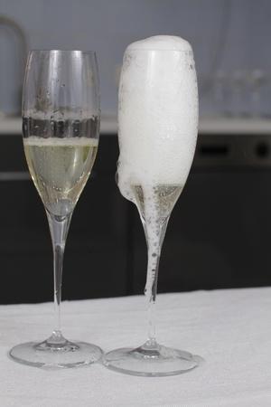 champagne splash. bottle and cork celebration time Stock Photo - 9143308