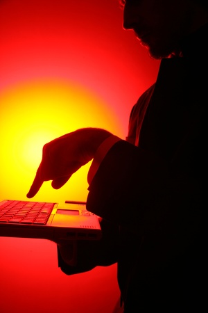 business be aware of hacking and crime Stock Photo - 10835886