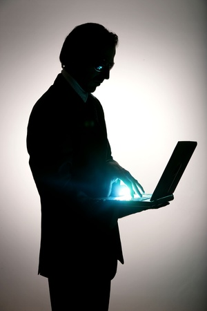 business be aware of hacking and crime Stock Photo - 11092412