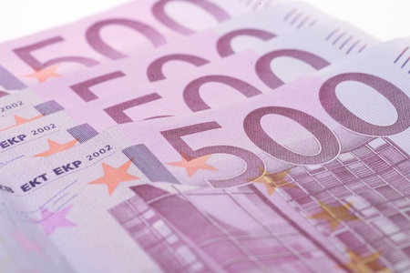 Euro Money on white Stock Photo - 11092804