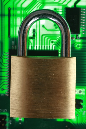protect and safe your data Stock Photo - 11092896