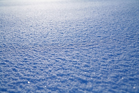 Details of a beautiful snow surface perfect for backgrounds on greeting cards etc. photo