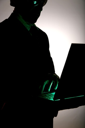 business be aware of hacking and crime Stock Photo - 11119289
