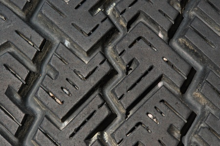 tire tyre profile close up Stock Photo - 11094034