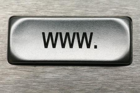 keys of a metal keyboard,.shallow depth of field............ Stock Photo - 11139079