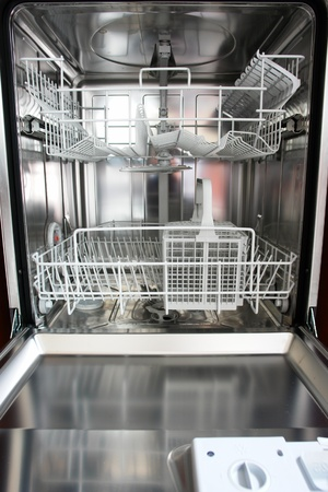 new dishwasher in a kitchen.... photo