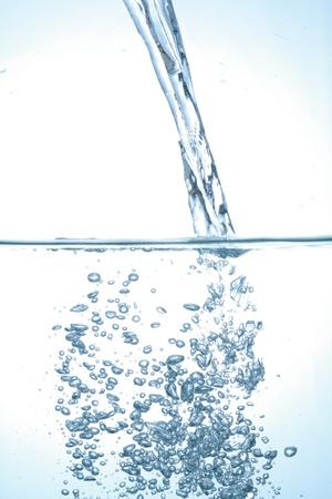 to watersplash: pouring water  fresh watersplash water splash fresh Stock Photo