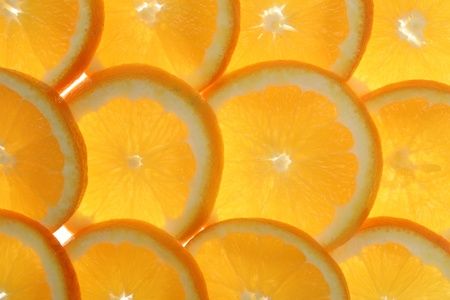 citrus fruits in slices Stock Photo