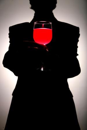 lambrusco: wine arrangment