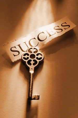 The Key to Success...................... Stock Photo