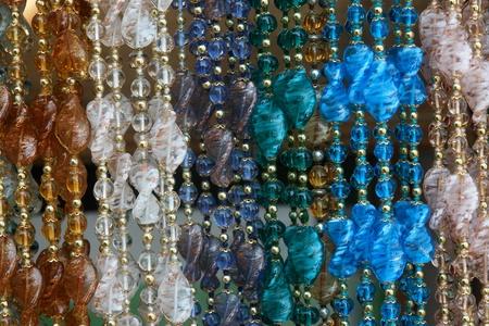 closeup of colorful bracelets photo