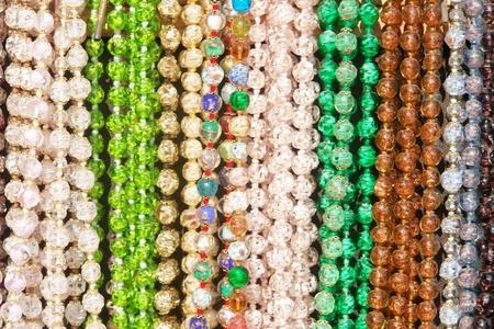 souq: closeup of colorful bracelets