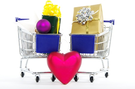Christmas shopping Stock Photo - 16589666