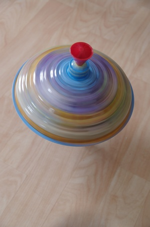 Toy spinning- top spinner gyro fast photo