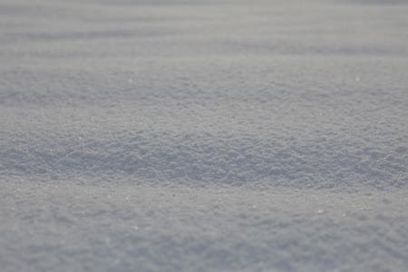 Real snow surface cover for background texture usage photo