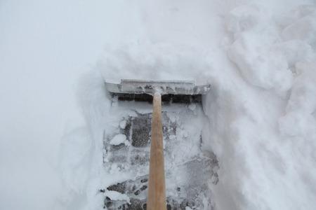 snow shovel photo