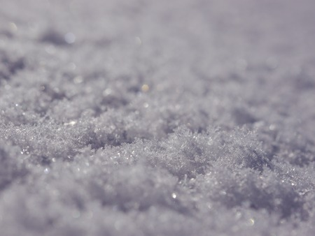 Real snow surface cover for texture usage photo