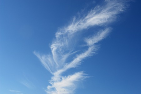 climatology: beautiful weather clouds in the sky Stock Photo