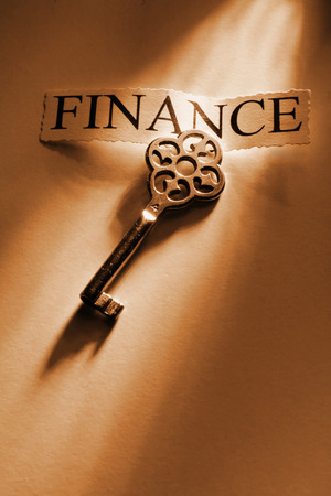 The key to Finance                       photo