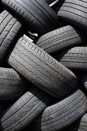 tire tyre profile close up Stock Photo - 25061173