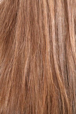 uncombed: close-up of hair