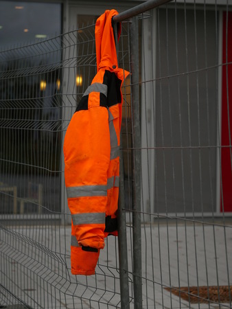 nonworking time on a building site