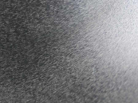 dof: metal surface very shallow DOF