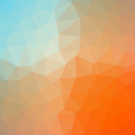 多色グラデーションの幾何学模様。三角形の背景。多角形のラスター抽象的な背景画像のウェブサイトのデザイン