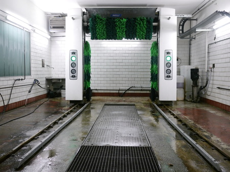 upkeep: a modern and automatic car wash system