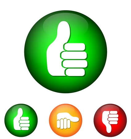 Hand Icon Stock Vector - 21322358