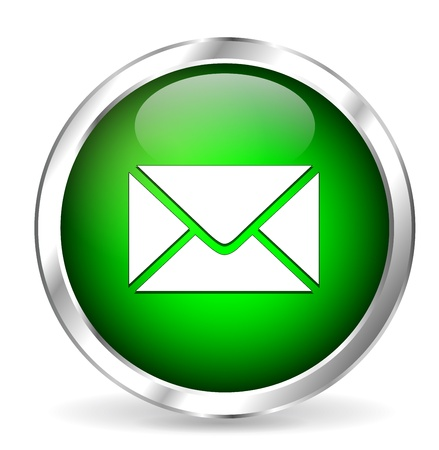 clic: Green mail icon