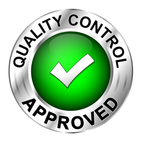 quality control: Icon quality control approved